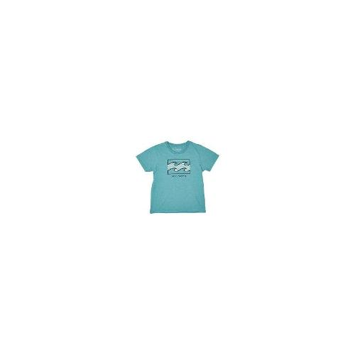 Billabong - New Billabong Boys Tots Boys Block Tee Logo Children Blue Size 7