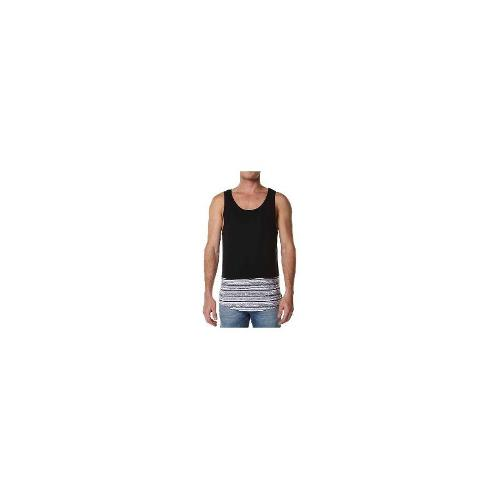 Rip Curl - New Rip Curl Men's Ulus Mens Tank Cotton Vests Black Size Extra Large
