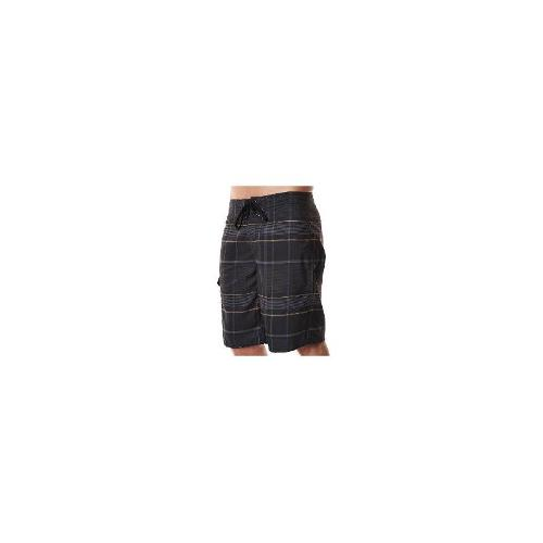 O'neill Mens Board Shorts - New O'neill Men's First In Printed Boardshort Logo Swimwear Black Size 30