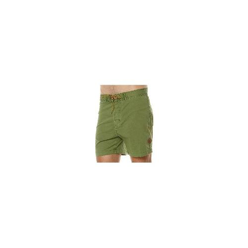 Deus Ex Machina Mens Board Shorts - New Deus Ex Machina Men's Canggu Original Mens Boardshort Fitted Swimwear Green Size 34