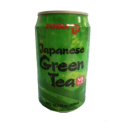 0074410741860  Pokka Japanese Green Tea 300ml - Label
