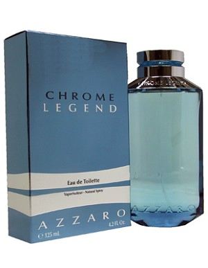 CHROME LEGEND 125ml EDT SP by AZZARO