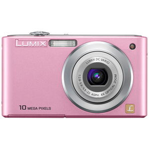Panasonic Lumix DMC-F2-P Digital Camera - Pink