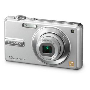 Panasonic Lumix DMC-F3 Digital Camera - Silver