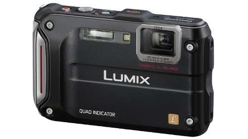 Panasonic DMC-FT4 Digital Camera - Black