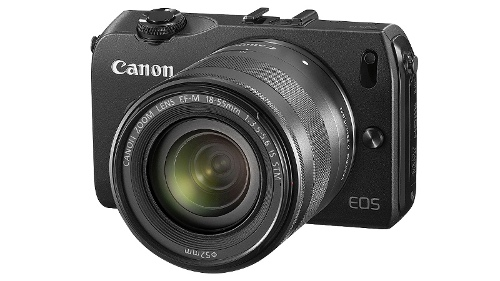 Canon EOS M Compact System Camera Single Lens Kit