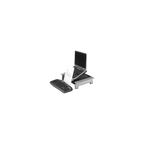 Fellowes Monitor and Laptop Stand Silver Black