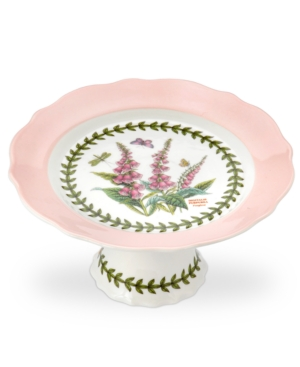 Portmeirion Serveware, Botanic Garden Terrace Small Pink Cake Stand