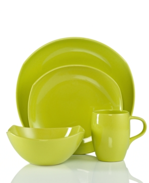 Dansk Dinnerware, Classic Fjord Apple Green 4-Piece Place Setting
