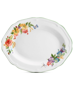 Mikasa Dinnerware, Antique Garden Oval Platter
