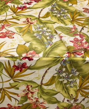 "Tommy Bahama Table Linens, Paradise Point 60"" x 102"" Tablecloth"