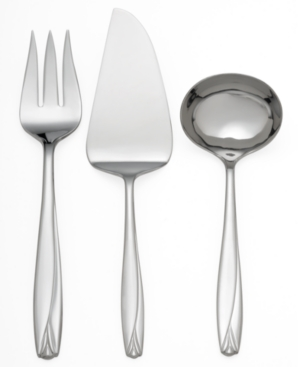 "Waterford ""Lisette"" 3-Piece Serving Set"