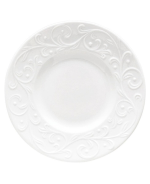 Lenox Dinnerware, Opal Innocence Carved Party Plate