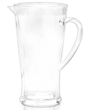 QSquared Drinkware, Madison Bloom Textured Acrylic Pitcher