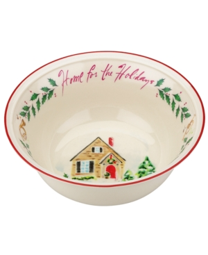 Lenox Serveware, Holiday Illustrations Home for the Holidays Bowl