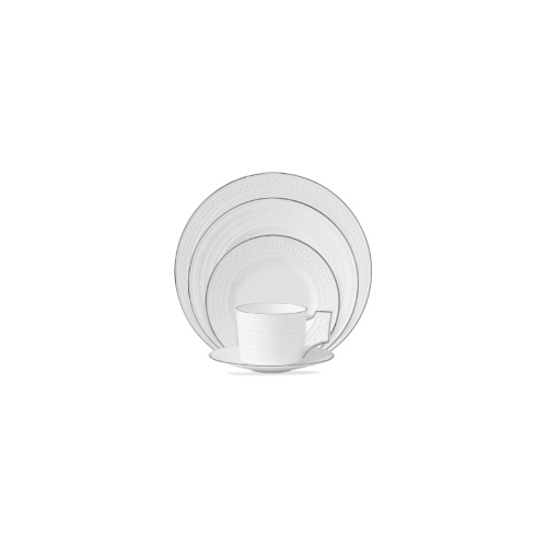 Wedgwood Dinnerware, Intaglio Platinum 5 Piece Place Setting