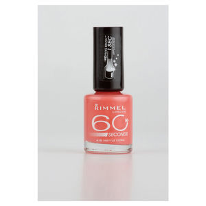Rimmel 60 Second Nail Polish Instyle Coral Nails