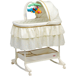 Fisher Price Rainforest Bassinet with Mobile