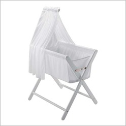 Mother's Choice - Coco Bassinet in White Colour: Baltic - Bassinets & Cradles