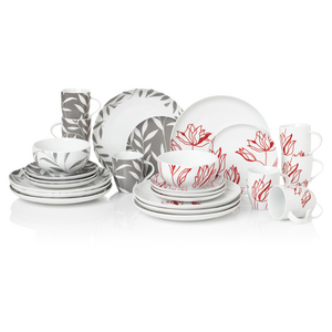 Wiltshire Design Collection 16 piece Round Leaf Dinnerset