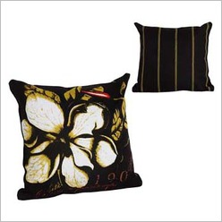 Pomp and Ceremony - Square Flower Cushion - Cushions