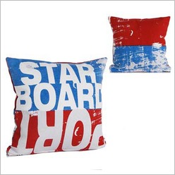 Pomp and Ceremony - Square Port Starboard Cushion - Cushions