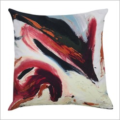 Planinsek Art - Liquid Storm Cushion Size: 60cm x 60cm - Cushions