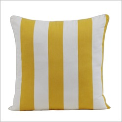 IDC - Scarborough Nautical Stripe Cushion Colour: Orange - Outdoor Cushions