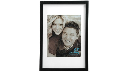 "UR1 Gallery 10""x15"" Photo Frame with 8""x10"" Opening - Black"