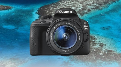Canon EOS 100D DSLR Camera Single Lens Kit