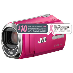 JVC GZ-MS215 Everio Camcorder - Pink