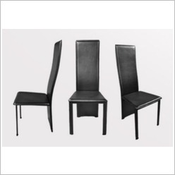 By Designs - Deanne Dining Chair in Black (Set of 6) - Dining Chairs