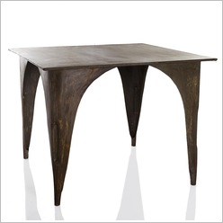 Stoneleigh & Roberson - Square Metal Indust Dining Table - Dining Tables