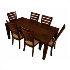 By Designs - Jamaica 182.5cm Dining Table in Dark Oar - Dining Tables