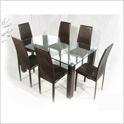 By Designs - Clare 150cm Dining Table in Chocolate - Dining Tables