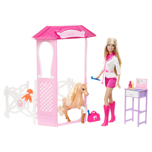 Barbie I Can Be Pony Doctor???????