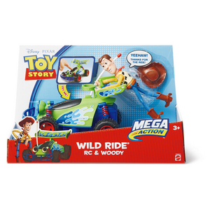 Toy Story Wild Ride Rc & Woody (V4631)