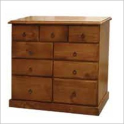 Bay Street - Lisa Chest with 9 Drawers in Blackwood - Tallboys & Chests of Drawers