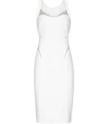 Reiss Pam PANELLED FITTED DRESS