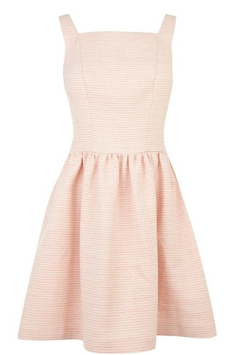 Pink Tweed Dress