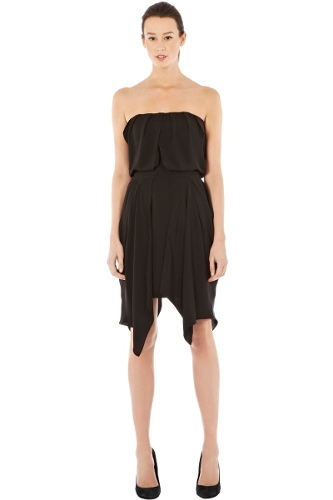 Bandeau Drape Dress