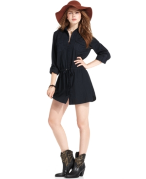 Sanctuary Dress, Long-Sleeve Shirtdress