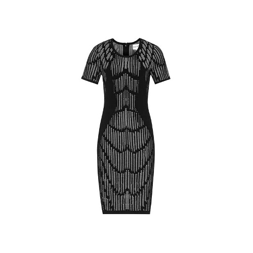 Reiss Felix TEXTURED BODYCON DRESS