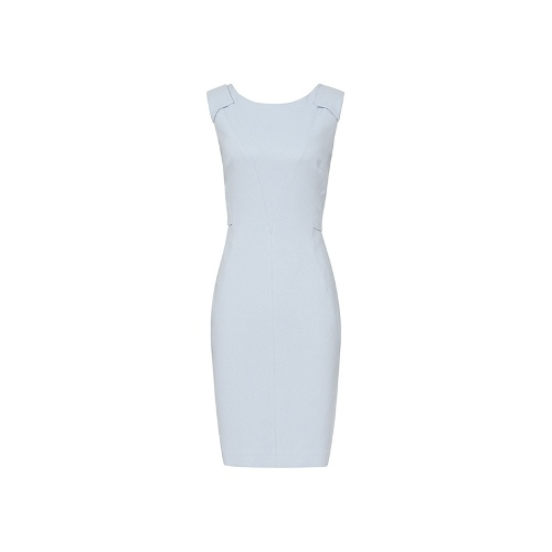 Reiss Jeanne PANELLED FITTED DRESS