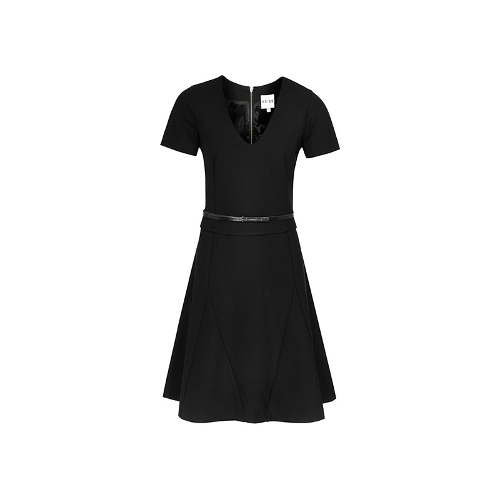 Reiss Tilda GODET DETAIL DRESS