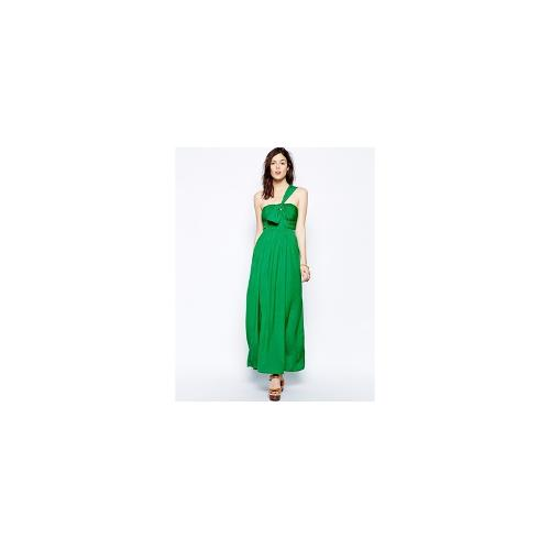 Ukulele Jade Dress - Green