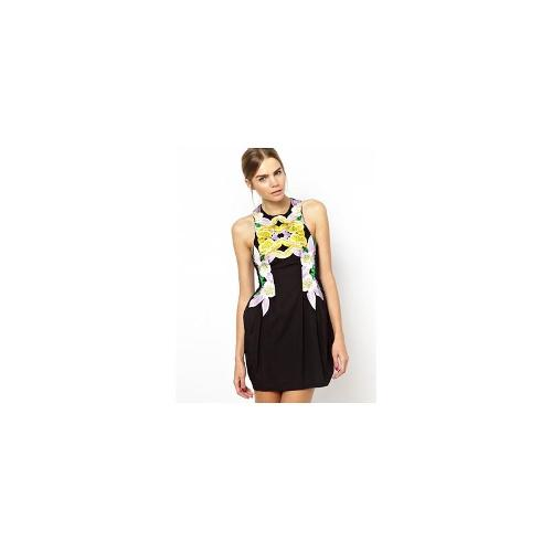 Alice McCall Lyon Dress with Floral Embroidery - Wilmingtons floral