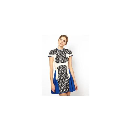 Alice McCall Angels on Wheels Dress - Lace/cobalt