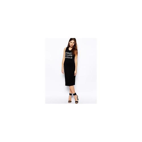 BCBGeneration Jersey Dress with Star and Moon Print