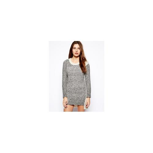 French Connection Block Party Long Sleeved Knit Dress